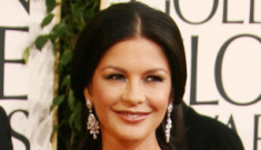 """Globes fashion: Catherine Zeta-Jones and the """"bitches in green"""" trend"""