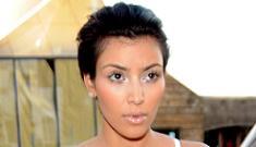 Kim Kardashian admits she's trying to lose her butt