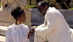 Diddy's girlfriend is pregnant