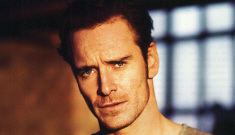 Michael Fassbender & James McAvoy smolder as the young Xavier & Magneto