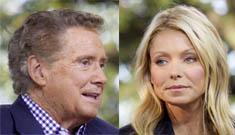 Kelly Ripa blindsided by Regis' sudden retirement announcement