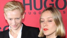 Tilda Swinton & Chloe Sevigny in Hugo Boss: who looks better?