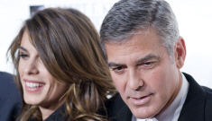George Clooney does not give a crap about ever getting married again