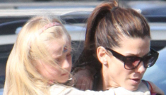 Sandra Bullock is trying to prepare 6-year-old Sunny James for her new step-mom