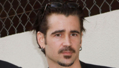 Colin Farrell steps in for Kiefer at Donald Sutherland's Walk of Fame ceremony