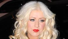 Is Christina Aguilera the new boozy, floozy Britney Spears?