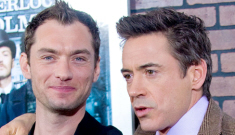 Jude Law is pissed at Robert Downey Jr.'s support of Mel Gibson