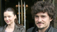 Orlando Bloom and Miranda Kerr's nursery is green, literally