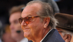 "Jack Nicholson: ""I'm not worried about wrinkles, in myself or in women"""
