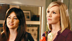 Jennie Garth & Shannen Doherty: there was no fistfight & Tori exaggerated