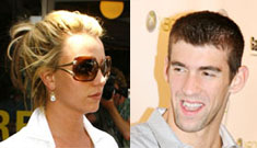 Britney rumored to present with Olympic star Michael Phelps at MTV VMAs
