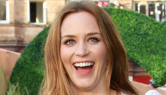 Emily Blunt lightens her hair to a blondish red: better or worse?