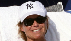 Katie Couric vacations in Miami with her furry-moobed young stud