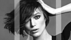 Keira Knightley styled by Tom Ford for Elle UK: beautiful or bored/hungry?