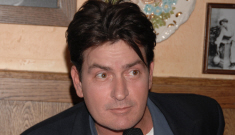 """Charlie Sheen is receiving """"in-home rehab"""".  Of course."""