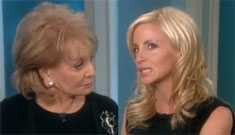 """Barbara Walters snarks to Camille Grammer: """"you lost a man who wasn't your lover"""""""
