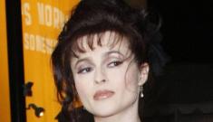 Helena Bonham Carter talks about her all-natural, corset-clad boobs