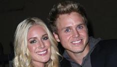 Spencer Pratt says he works out to Heidi's music every day