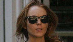 Lindsay Lohan skips funeral to avoid her father