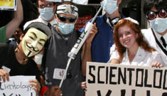 Anti-Scientology protesters to demonstrate at Katie Holmes' Broadway debut
