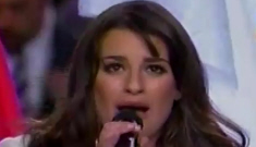 Lea Michele's SuperBowl performance: too sugary or just perfect?