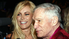 Hugh Hefner explains why he dates women young enough  to be his granddaughters