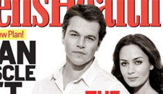 How Photoshopped is Matt Damon on the cover of Men's (and Women's) Health?