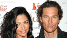 Matthew McConaughey & Camila Alves: trying too hard or just keep livin'?
