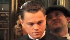 """Leonardo DiCaprio & Armie Hammer will have """"a ton"""" of kissing scenes in 'J. Edgar'"""