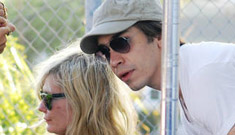 "Kirsten Dunst claims not to know Justin Long ""from Adam"""