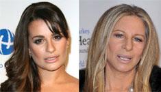 Barbra Streisand sort-of disses Glee and then backtracks