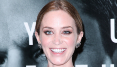 Emily Blunt in frothy pink Elie Saab: adorable or unbelievably tragic?