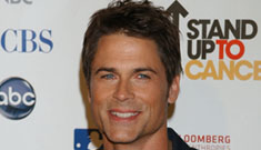 Rob Lowe says his career is suffering as a result of nannies' false claims