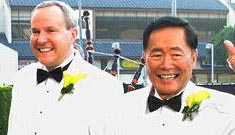 George Takei takes the plunge at 71