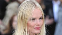 Kate Bosworth, slumpy Burberry fashion girl: boring, cute or tragic?