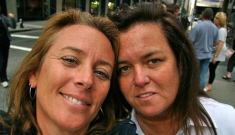 Rosie O'Donnell splits from her girlfriend of one year