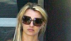 Is Britney's record label pushing her too hard?
