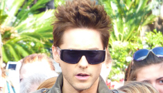 Jared Leto's latest hair style: offensively normal, or still totally punk?