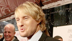 Owen Wilson on being a new dad – he scopes out potential nap spots
