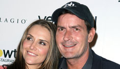 Charlie Sheen, his new gf, a porn star and his ex wife go  on vacation together