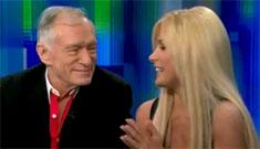 Hugh Hefner and Crystal Harris plan 'intimate' wedding w/ 300 guests June 18