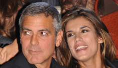 Elisabetta Canalis is planning a huge party for George Clooney's 50th b-day