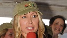 Heather Mills tries to impress New Yorkers with gifts of vegan meat