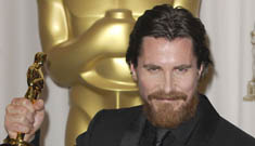 Best Supporting Actor: Christian Bale (photos updated)