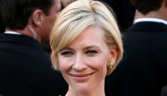 Oscar Fashion: Cate Blanchett's lilac Givenchy boob frame