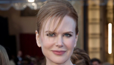 Oscar Fashion: Nicole Kidman in a tragic white Dior