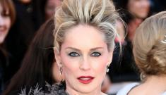 Oscar Fashion: Sharon Stone's Cruella de Vil-esque Christian Dior