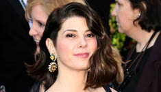 Oscar Fashion: Marisa Tomei in 60 year-old vintage Charles James: pretty or too fussy?