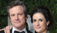 Oscar Best Couples: Colin Firth & Livia, plus RDJ, Jude Law & Susan Downey