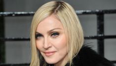 Oscar VF Party: Madonna had some more gristly plastic surgery